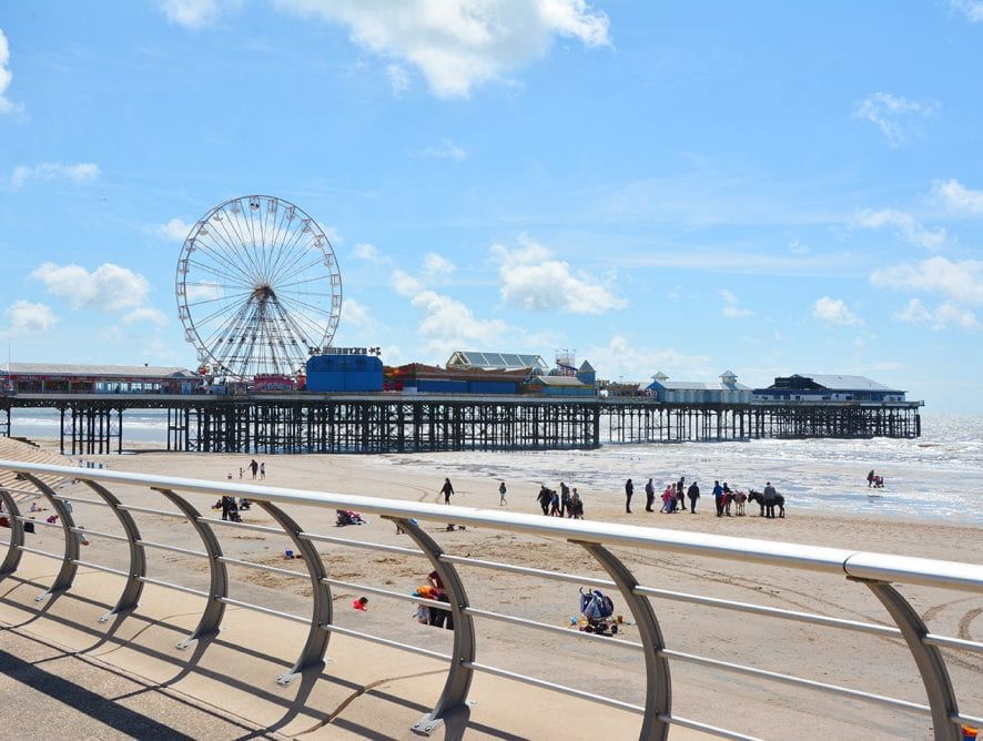 A 2016 study praised Blackpool for having the second best shoreline in the world
