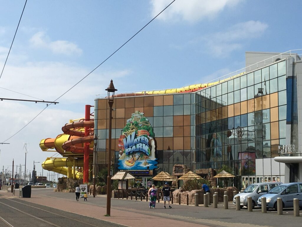 Sandcastle Waterpark at Blackpool South Shore