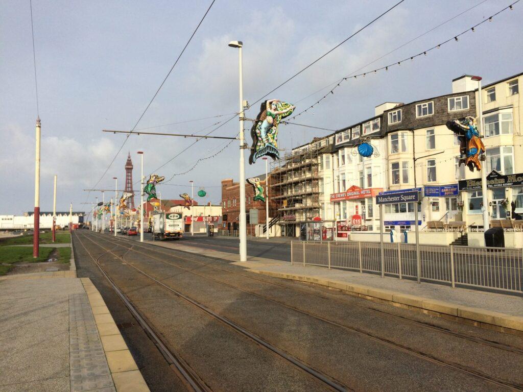 Promenade at Manchester Square, Blackpool South Shore