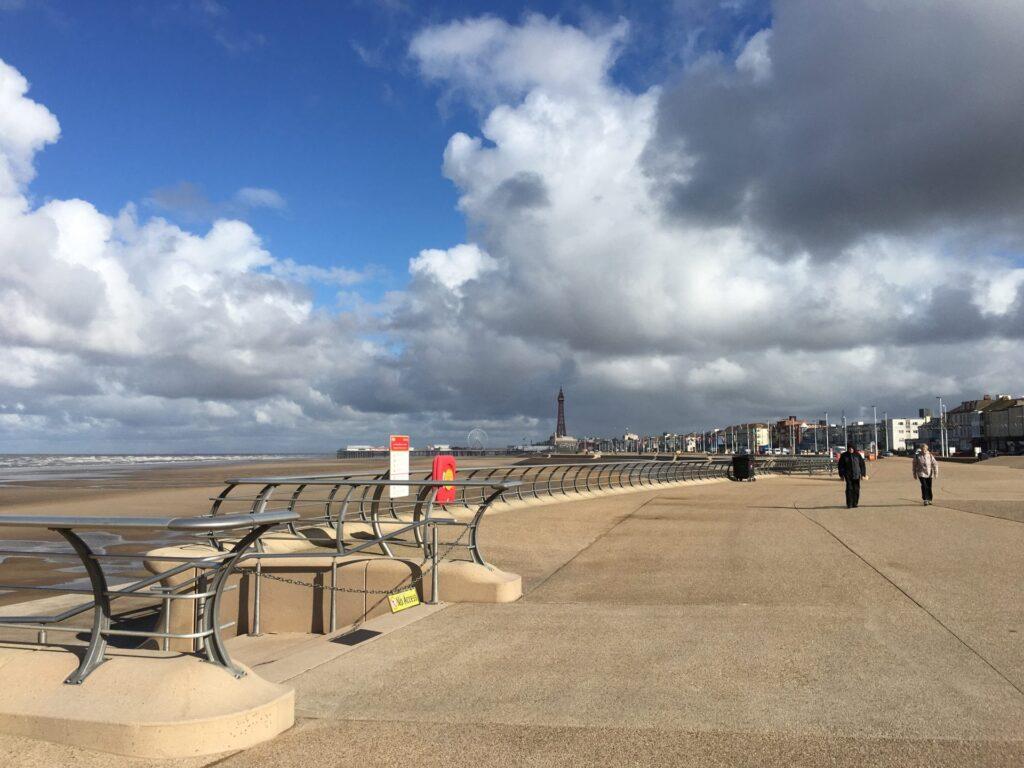 Waterloo Headland at Blackpool South Shore