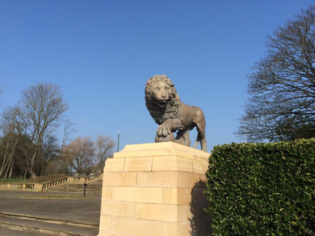 Blackpool Stanley Park Medici lions
