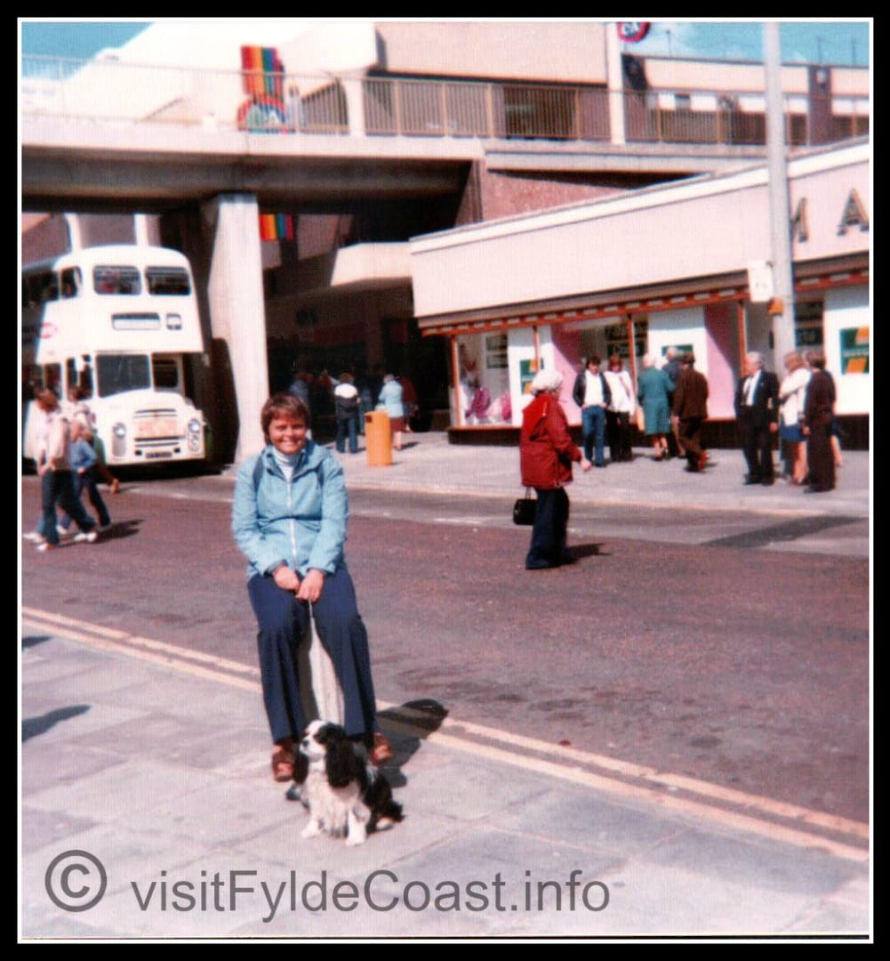 Blackpool Town Centre - the former M&S and C&A. Our Old Blackpool Photos - archives from Visit Fylde Coast
