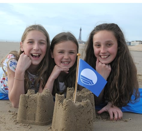 Second Blue Flag for Blackpool beach