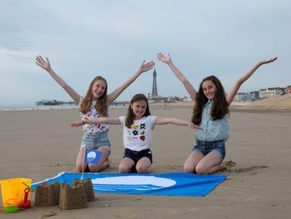 Blue Flag forBlackpool Beach