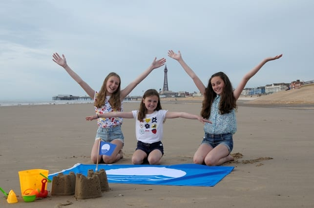 Blue Flag for Blackpool Beach
