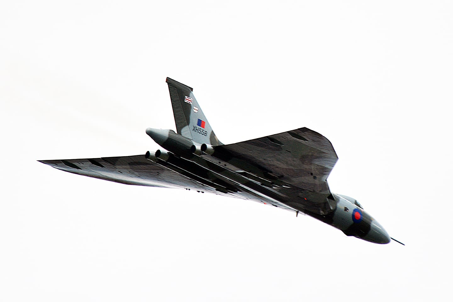 Vulcan at Blackpool Airshow