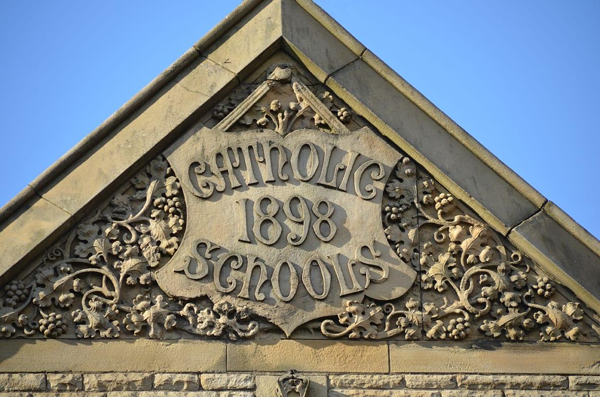 Traces of Blackpool's Past - Catholic Schools 1898, Clifton Street