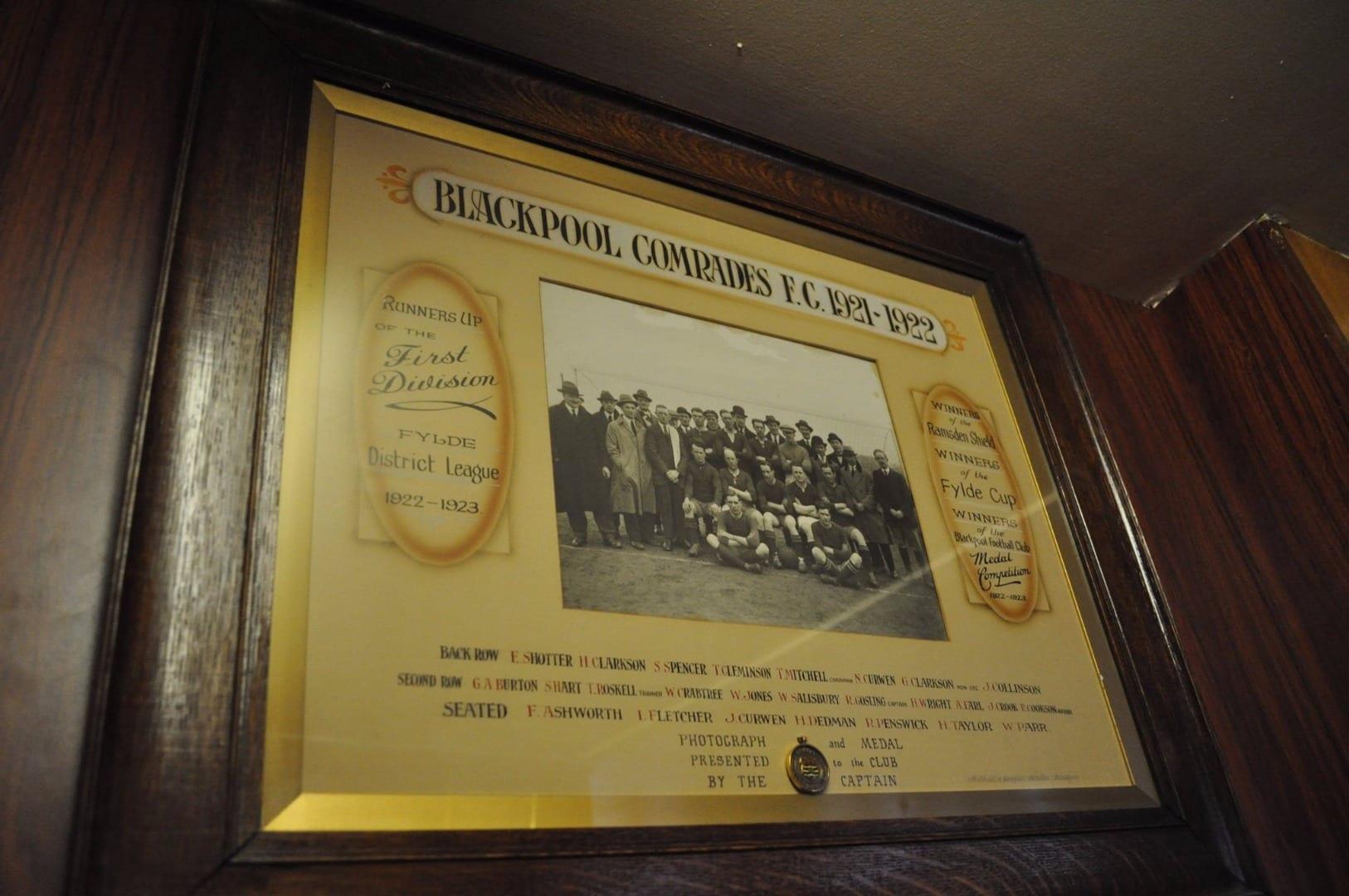 Blackpool Comrades Club football team