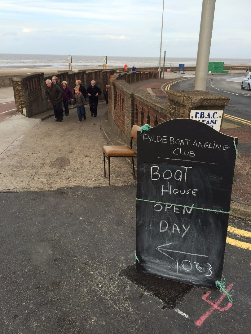 Fylde Boat Angling Club Open Day