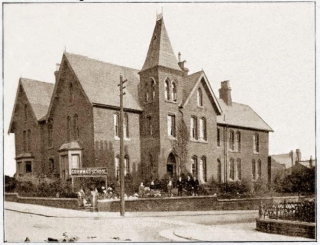 Grammar School on Adelaide Street Blackpool