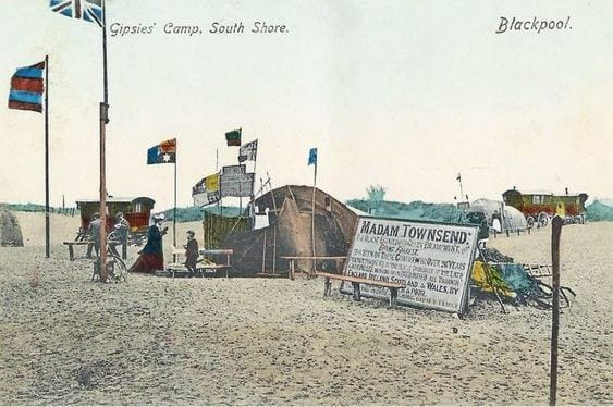 Original Gypsy Camp at Blackpool Pleasure Beach