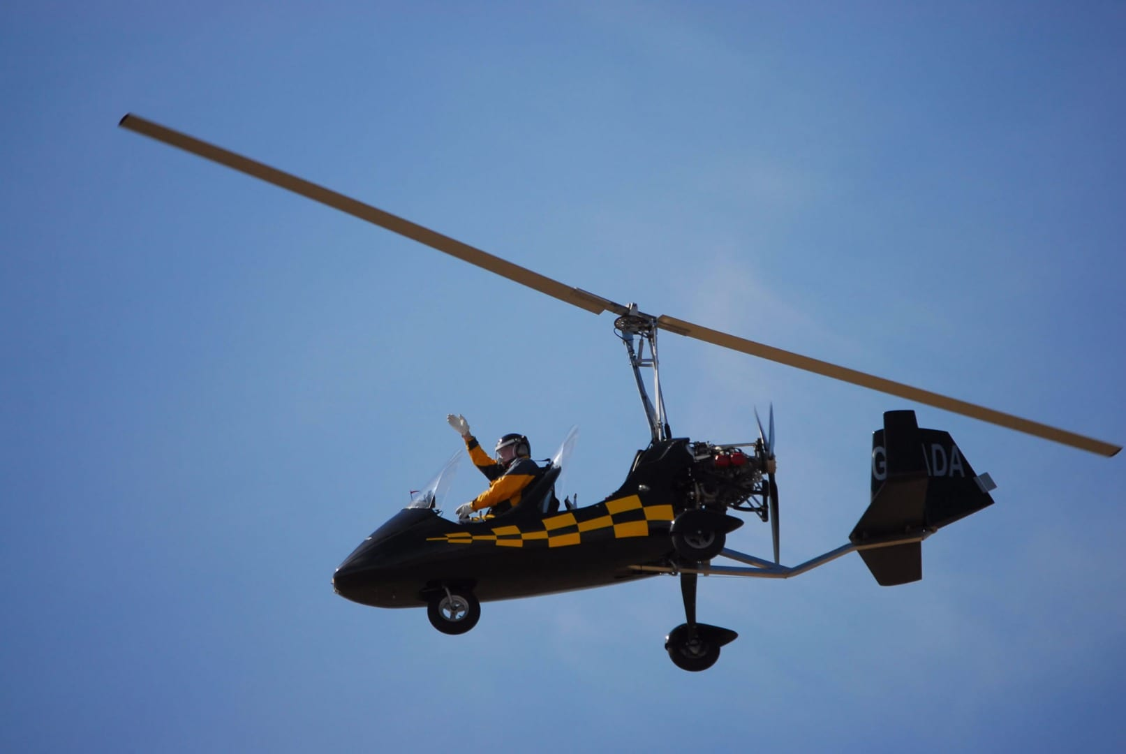 Gyrocopter at Blackpool Airshow