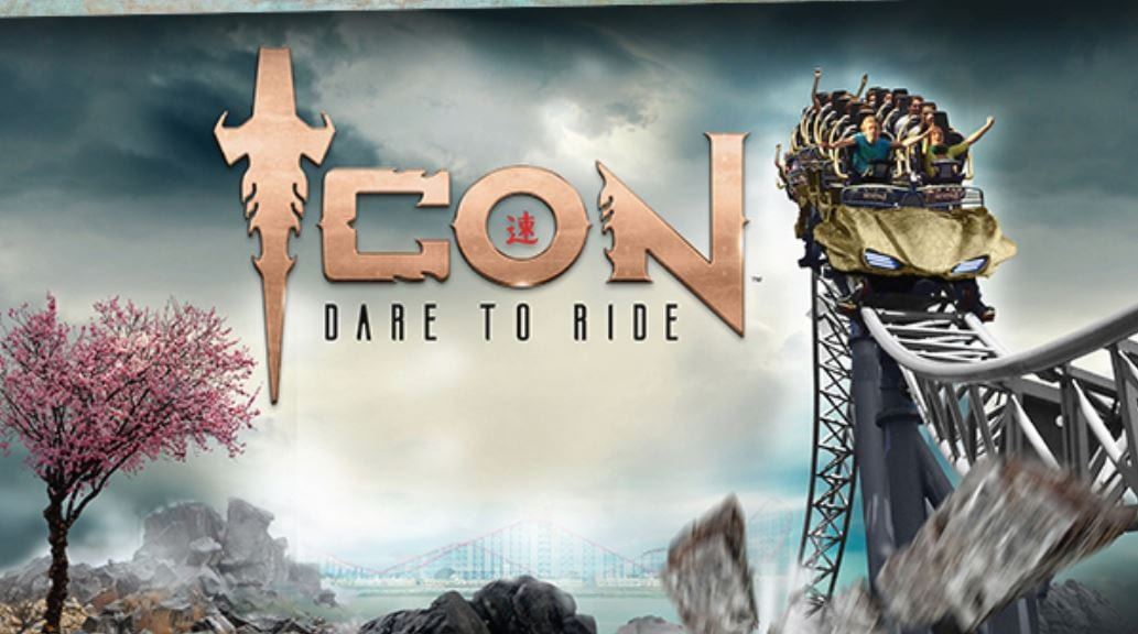Icon, new rollercoaster ride at Blackpool Pleasure Beach