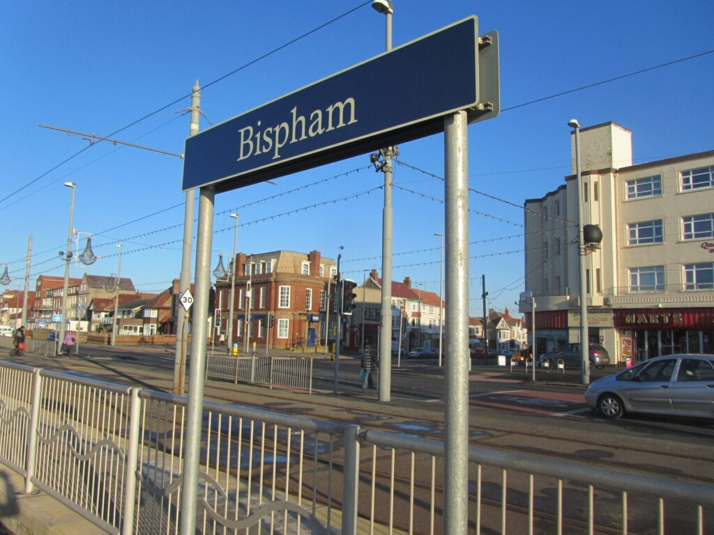 Junction of Red Bank Road at Bispham, turn right to head to Bispham Village