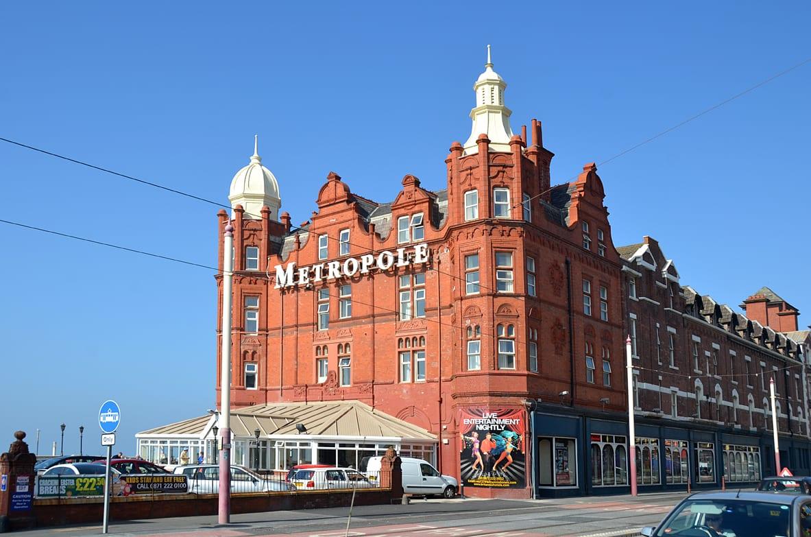 Metropole Hotel on Blackpool promenade