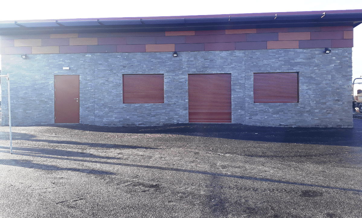 Exterior of new Anchorsholme Bowling Club House