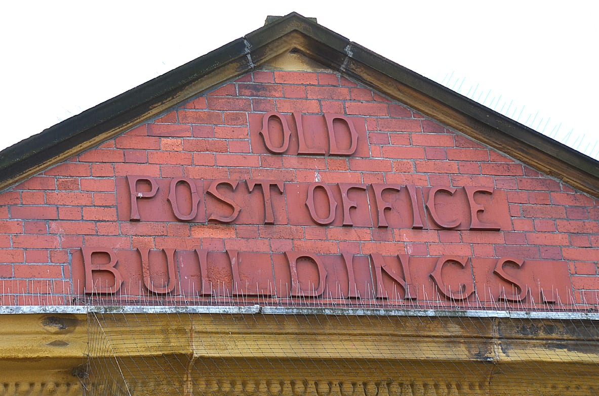 Old Post Office Buildings, traces of Blackpool's past