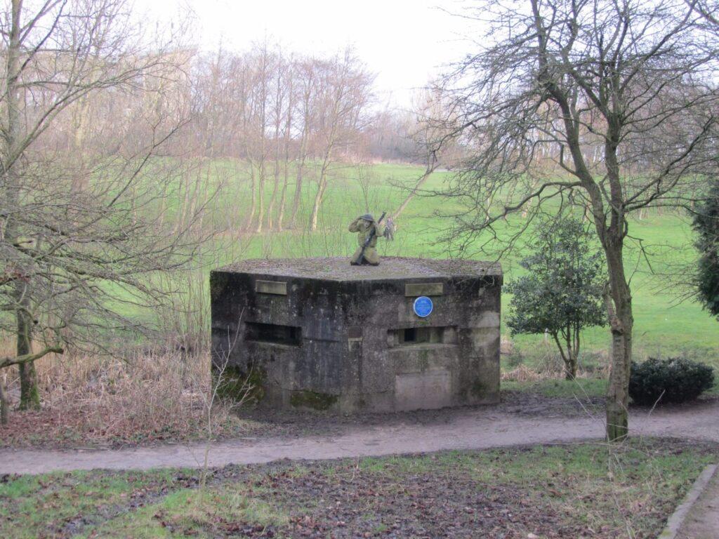World War II Pillbox in Salisbury Woodlands