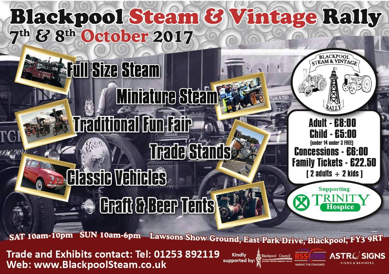 Blackpool Steam and Vintage Vehicle Rally 2017
