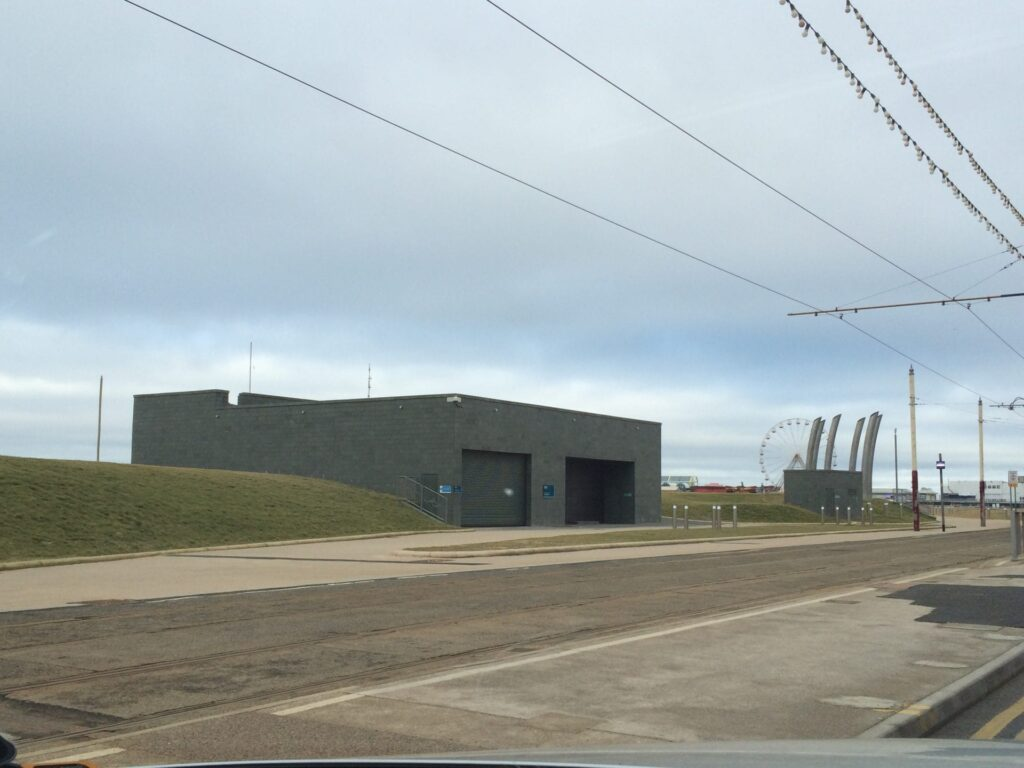 United Utilities Pumping Station at Blackpool South Shore