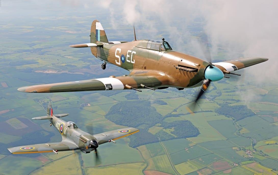 Battle of Britain Memorial Flight at Blackpool Airshow