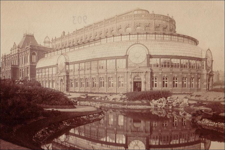 Photo from the History of Blackpool Winter Gardens, thanks to Juliette Gregson