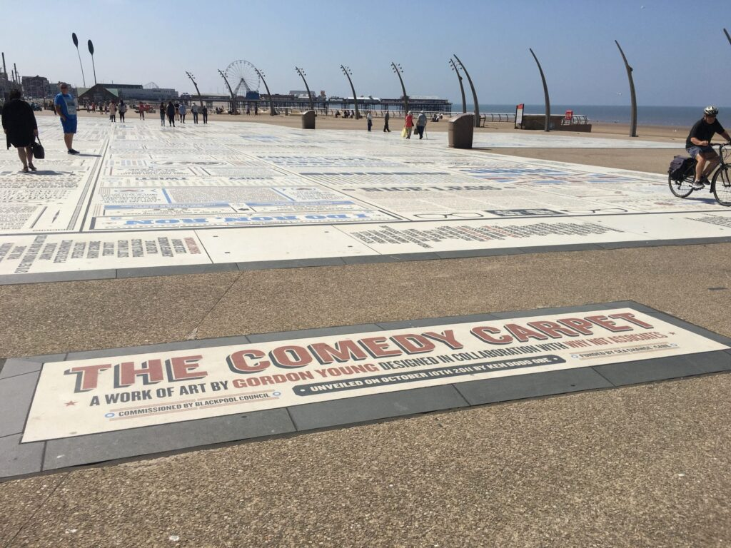The Comedy Carpet, Blackpool Tower Festival Headland