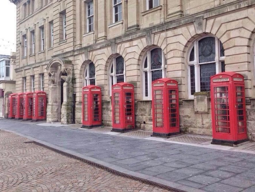Blackpool Post Office - Red Box Quarter
