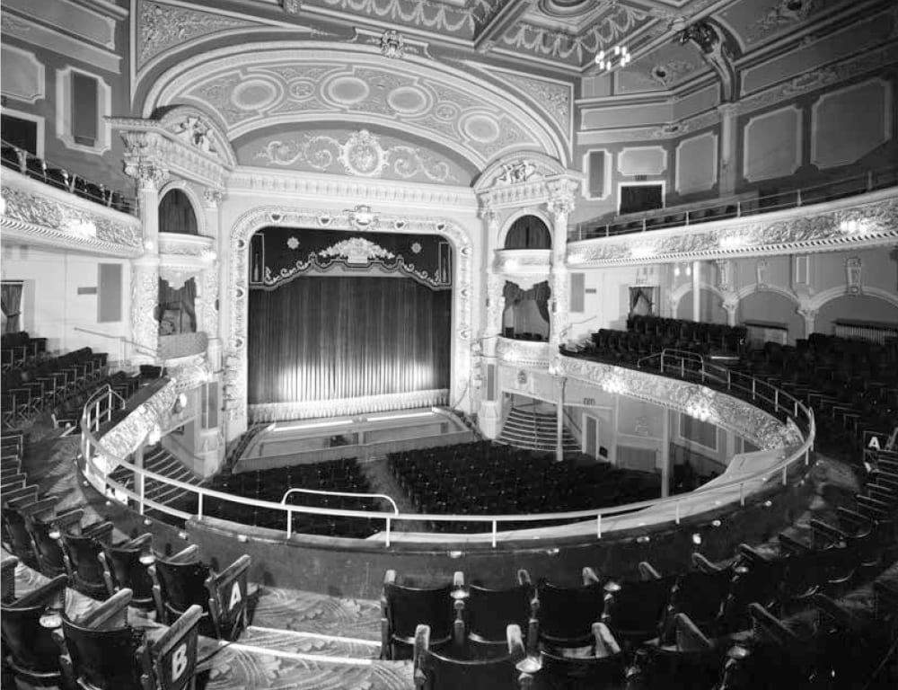 The Pavilion Theatre at Blackpool Winter Gardens in its heyday