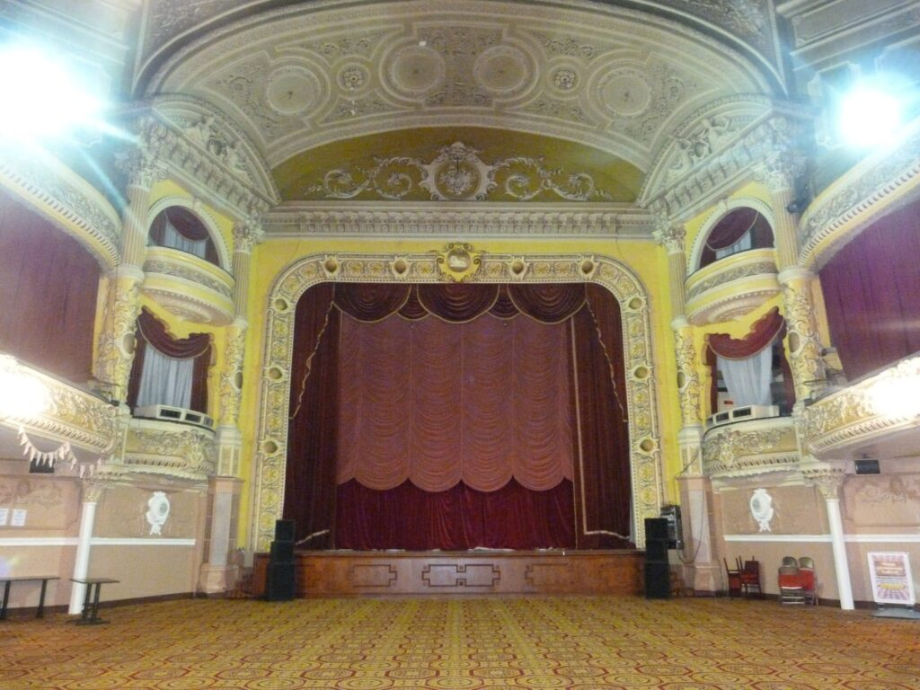 The Pavilion Theatre inside the Winter Gardens, Blackpool