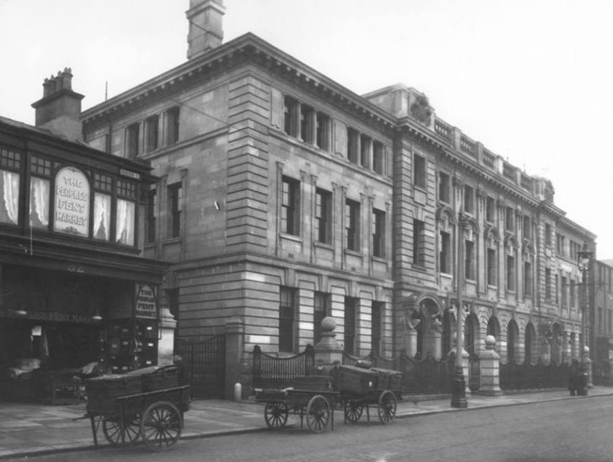 Abingdon Street Post Office and Market. Photo: Juliette Gregson