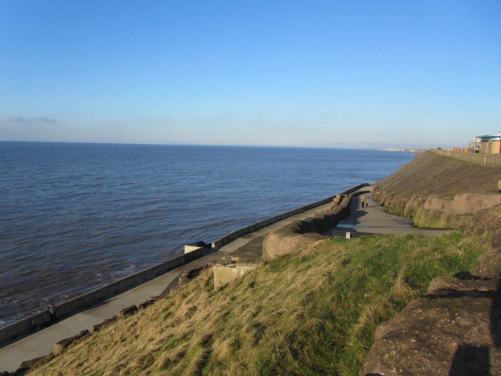 Blackpool North Shore: Cliffs at Bispham