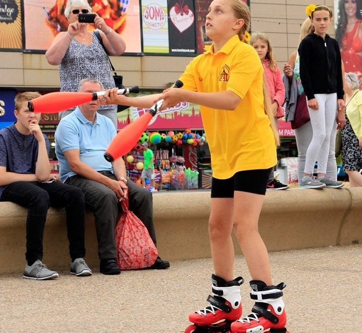 Blackpool Tower Circus Parade