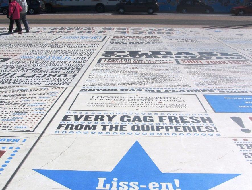 Blackpool Comedy Carpet