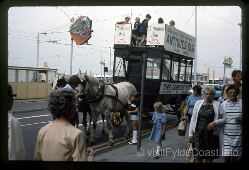 Horse and cart. Old Blackpool photos, archives from Visit Fylde Coast