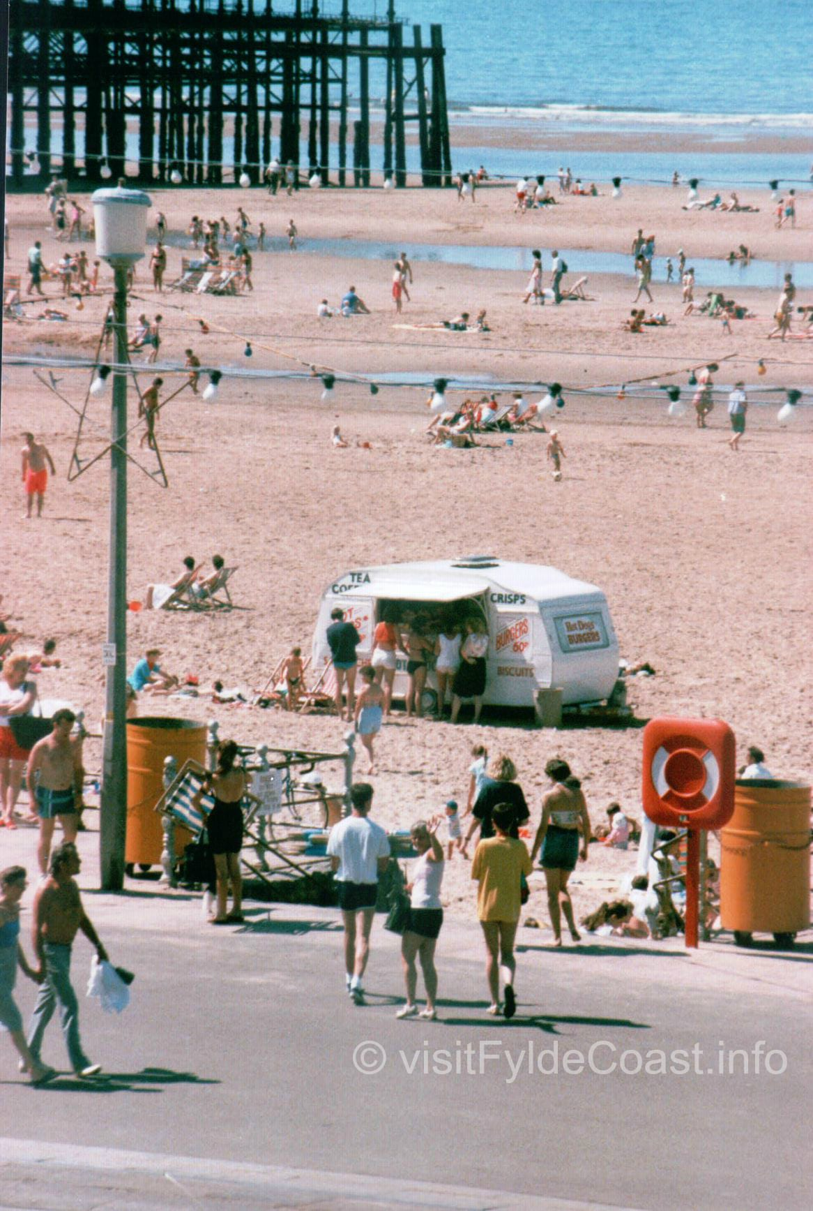 Blackpool South Beach c1990. Old Blackpool photos, archives from Visit Fylde Coast