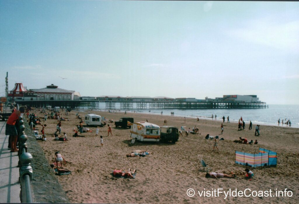 Blackpool South Shore, where Waterloo Headland is. Old Blackpool photos, archives from Visit Fylde Coast