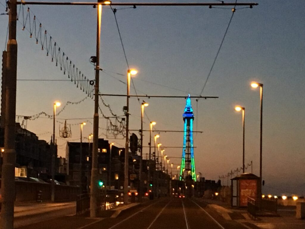 Blackpool Tower, Blackpool Christmas Lights Switch On