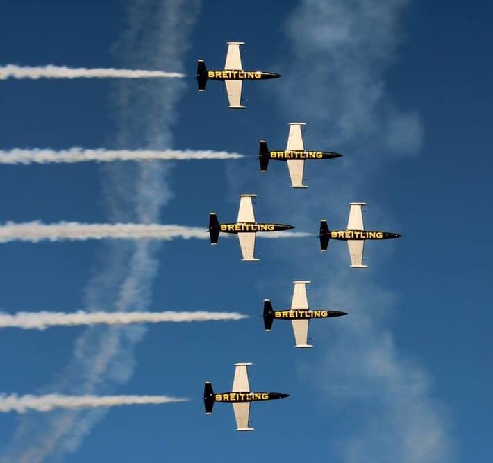 Blackpool Airshow - with a Breitling Treat!