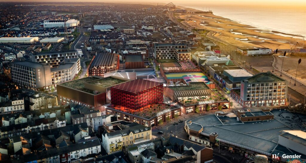 Blackpool Central Masterplan, Chariots of the Gods Entertainment Park
