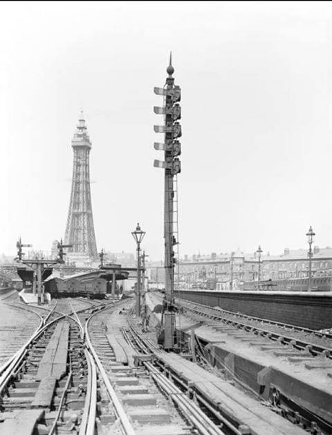 Blackpool Central Railway Station