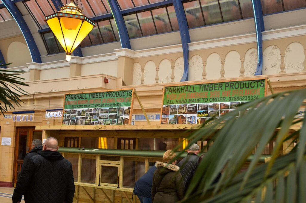 Blackpool Pigeon Show 2019 at the Winter Gardens