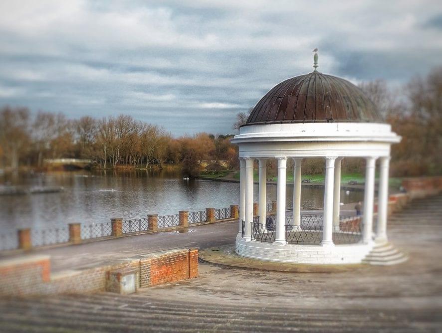 Stanley Park Bandstand by Carol Davis