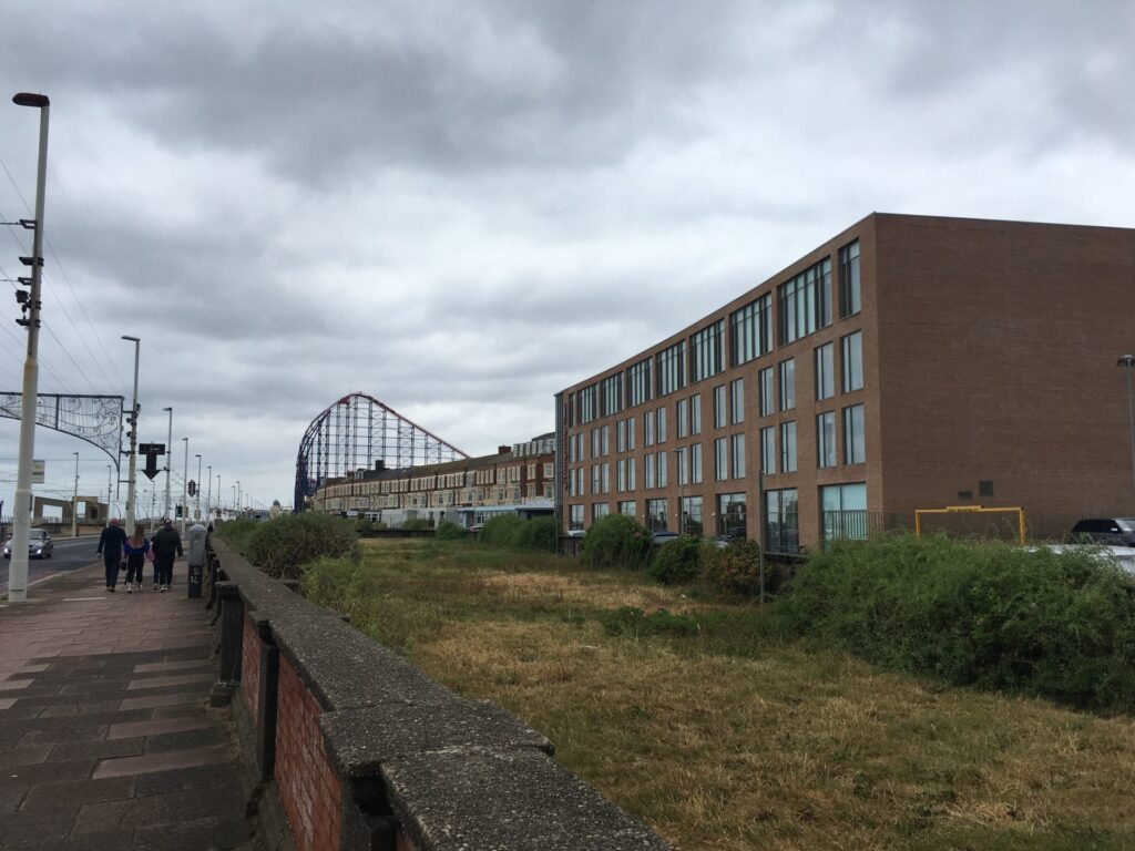 Hampton by Hilton at New South Promenade. Places to stay in Blackpool.