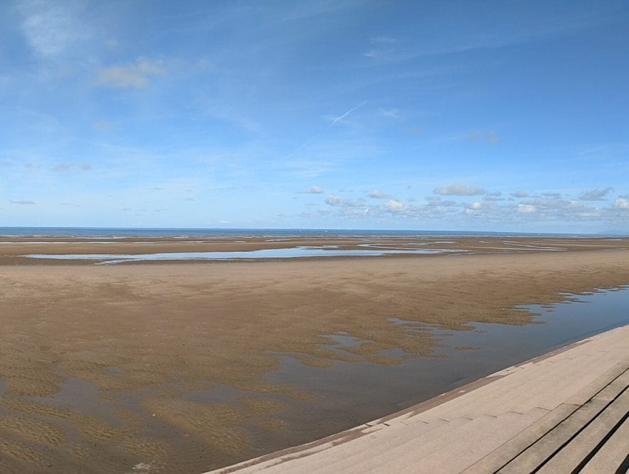Blackpool View from the Beach by Neil Curtis from Wolverhampton