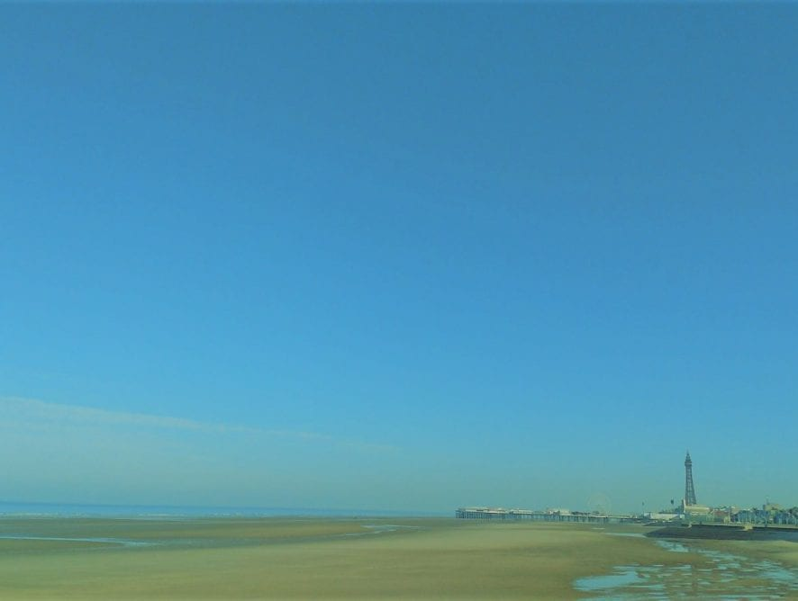 Blackpool View from the Prom by Neil Curtis from Wolverhampton