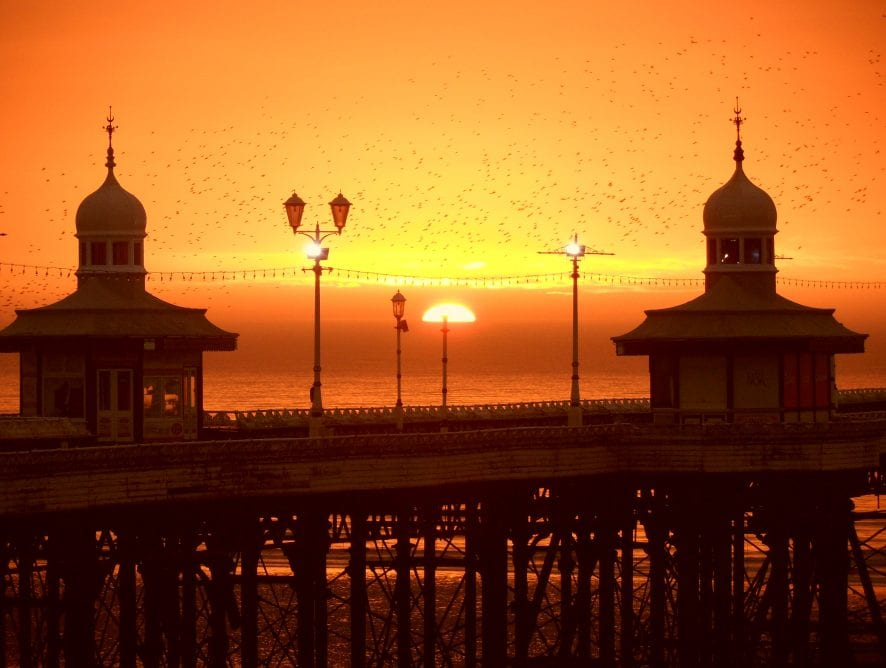 North Pier at sunset by Neil Curtis from Wolverhampton