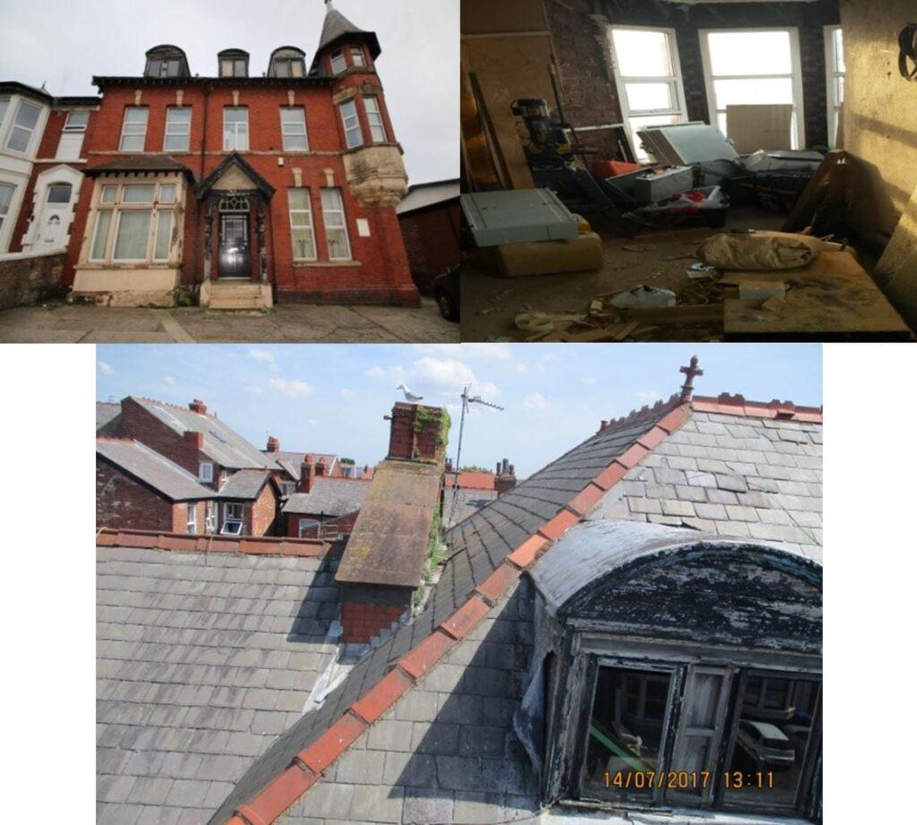 Better housing in Blackpool - 74 Park Road before refurbishment