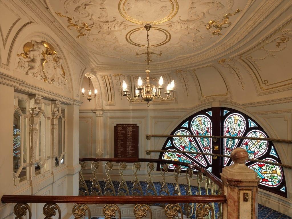 Inside Blackpool Grand Theatre. Photo: Sean Conboy