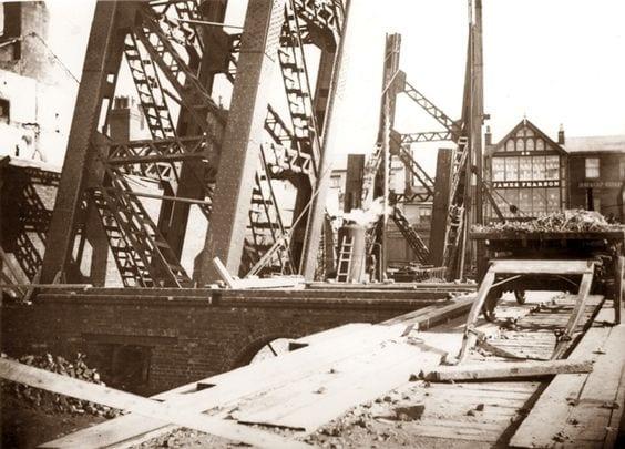 Building work begins on Blackpool Tower